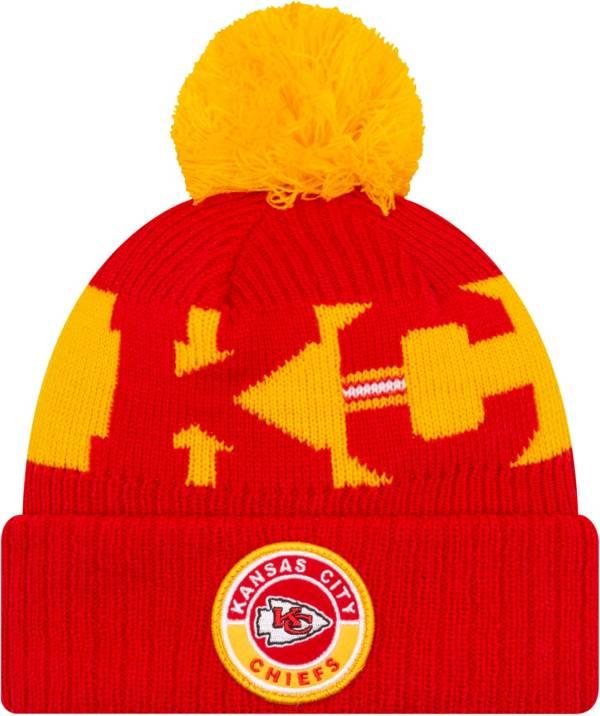 New Era Men's Kansas City Chiefs Sideline Sport Red Knit Hat product image