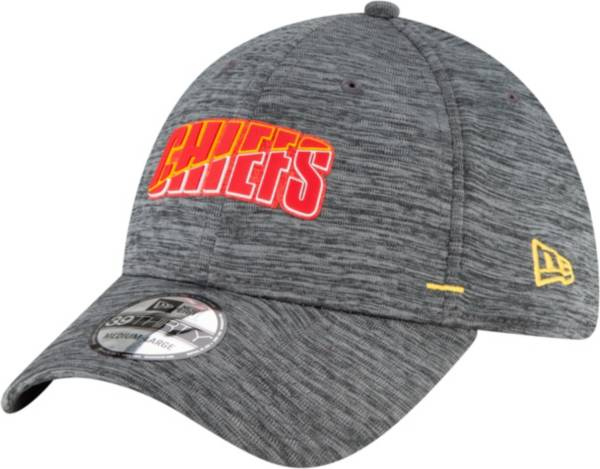 New Era Men's Kansas City Chiefs Grey Summer Sideline 39Thirty Stretch Fit Hat product image