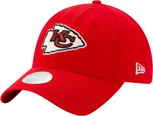 New Era Women's Kansas City Chiefs Red Glisten 9Twenty Adjustable Hat product image