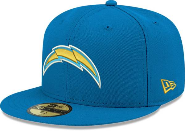 New Era Men's Los Angeles Chargers Blue 59Fifity Logo Fitted Hat product image