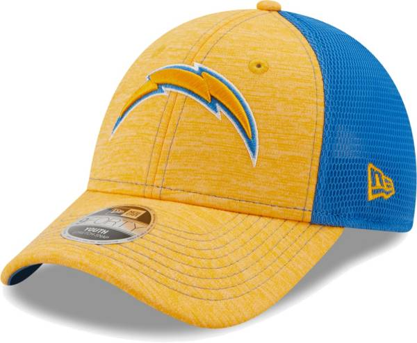 New Era Youth Los Angeles Chargers Navy 9Forty Neo Adjustable Hat product image