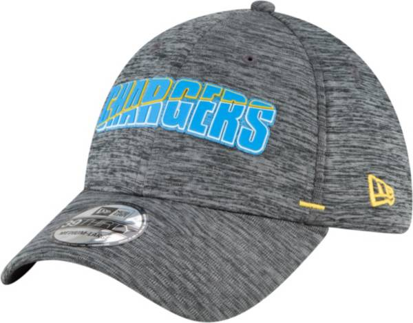 New Era Men's Los Angeles Chargers Grey Summer Sideline 39Thirty Stretch Fit Hat product image