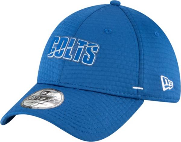 New Era Men's Indianapolis Colts Blue Summer Sideline 39Thirty Stretch Fit Hat product image
