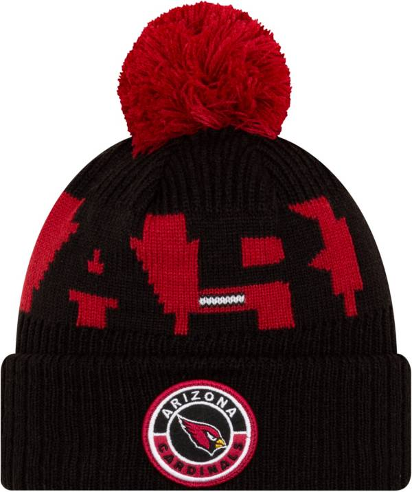 New Era Men's Arizona Cardinals Sideline Sport Red Knit Hat product image