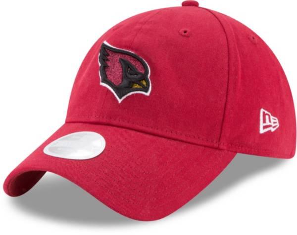 New Era Women's Arizona Cardinals Red Glisten 9Twenty Adjustable Hat product image