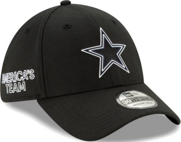 New Era Men's Dallas Cowboys 2020 NFL Draft 39Thirty Stretch Fit Black Hat product image