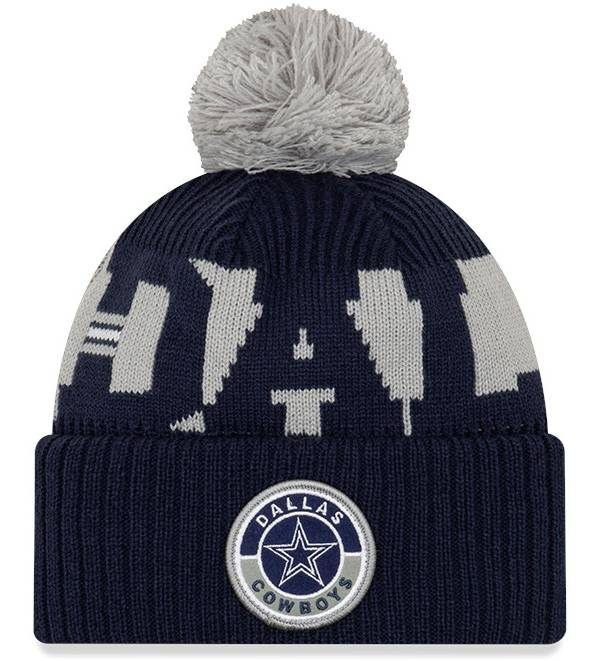 New Era Men's Dallas Cowboys Sideline Sport Navy Knit Hat product image