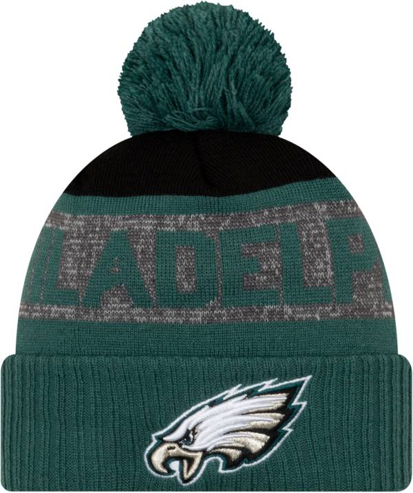 New Era Men's Philadelphia Eagles Pom Knit Hat product image