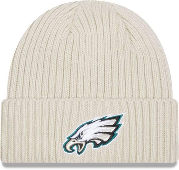 New Era Men's Philadelphia Eagles Core Cuffed Knit White Beanie product image