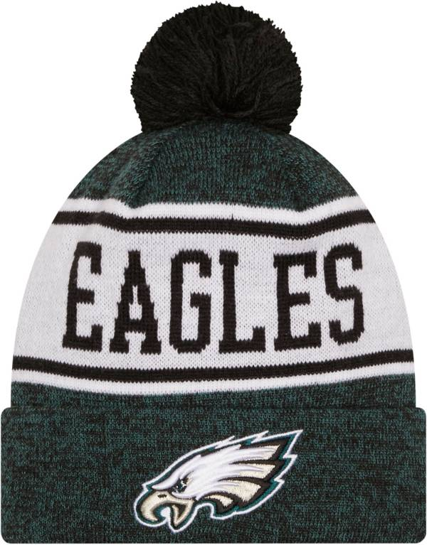 New Era Youth Philadelphia Eagles Green Banner Knit Pom Beanie product image