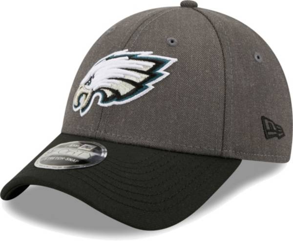 New Era Men's Philadelphia Eagles Grey League 9Forty Adjustable Hat product image