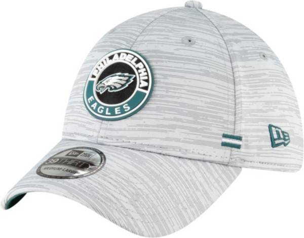 New Era Men's Philadelphia Eagles Sideline Road 39Thirty Stretch Fit Hat product image