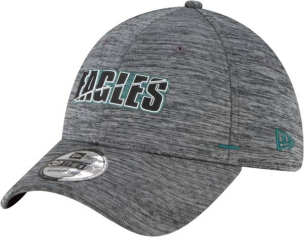 New Era Men's Philadelphia Eagles Grey Summer Sideline 39Thirty Stretch Fit Hat product image