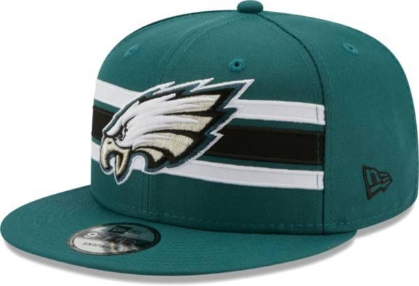New Era Men's Philadelphia Eagles Green 9Fifty Strike Adjustable Hat product image
