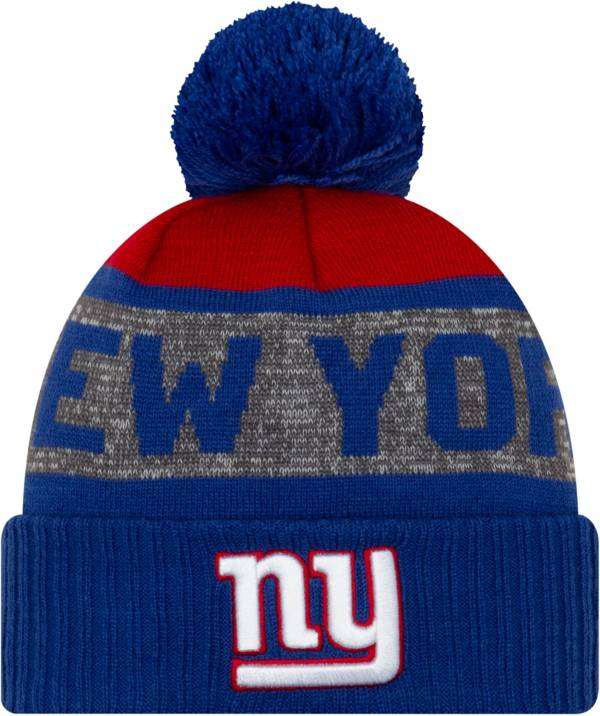 New Era Men's New York Giants Pom Knit Hat product image