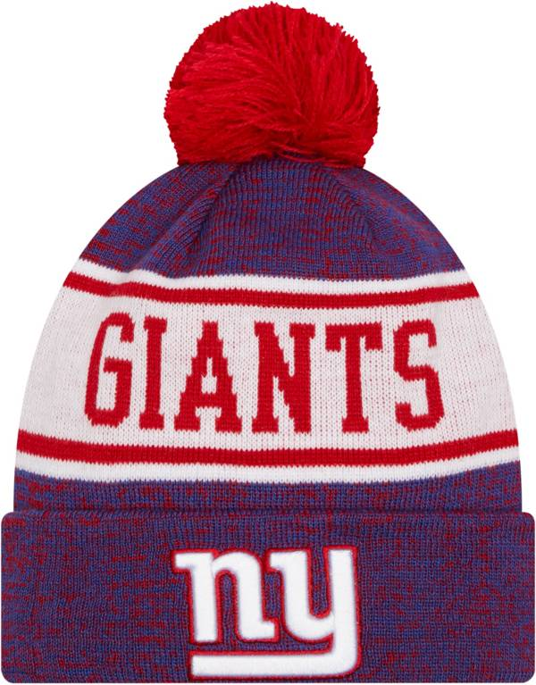 New Era Youth New York Giants Blue Banner Knit Pom Beanie product image