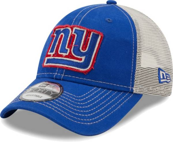 New Era Men's New York Giants Blue 9Forty Rugged Adjustable Hat product image
