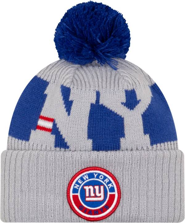 New Era Men's New York Giants Sideline Sport Red Knit Hat product image