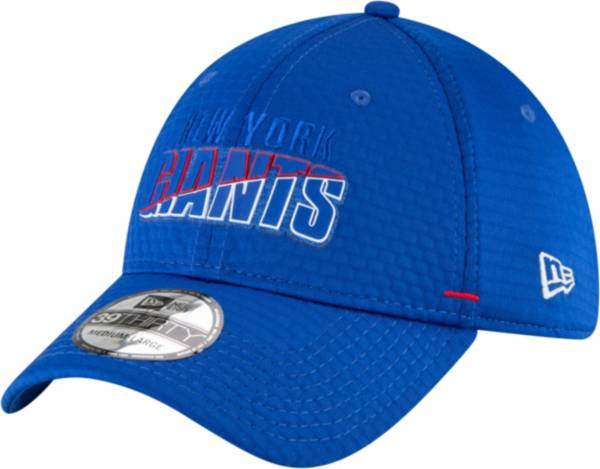 New Era Men's New York Giants Blue Summer Sideline 39Thirty Stretch Fit Hat product image