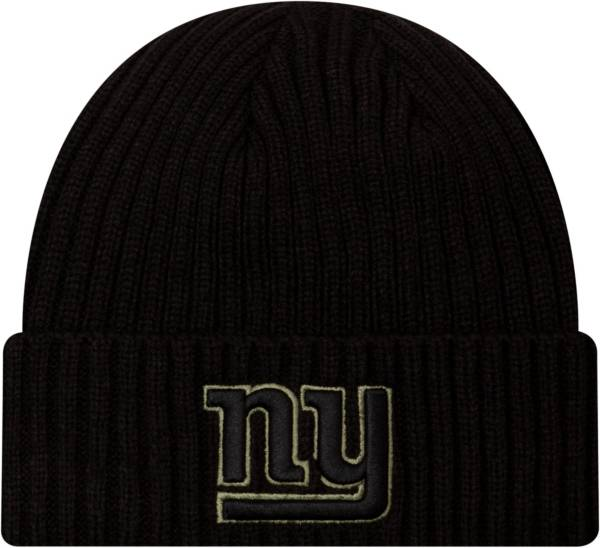 New Era Men's Salute to Service New York Giants Black Knit Hat product image