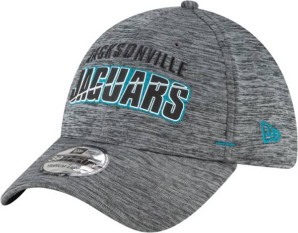 New Era Men's Jacksonville Jaguars Grey Summer Sideline 39Thirty Stretch Fit Hat product image