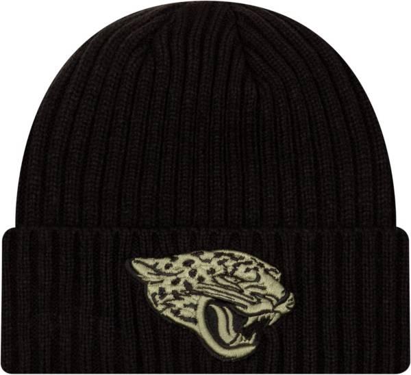 New Era Men's Salute to Service Jacksonville Jaguars Black Knit Hat product image