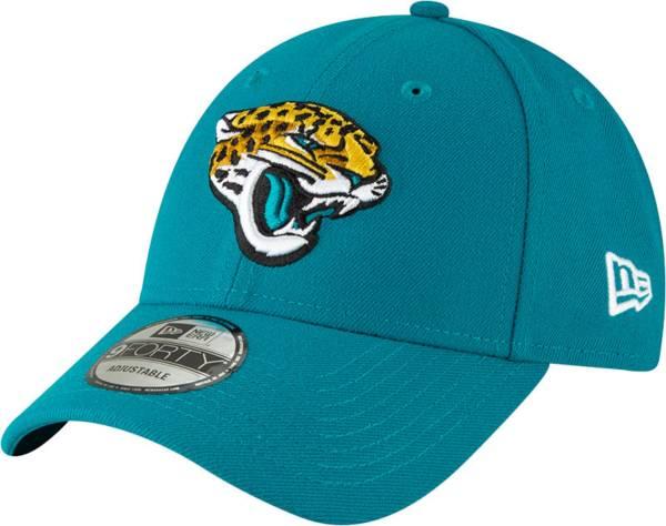 New Era Men's Jacksonville Jaguars Teal League 9Forty Adjustable Hat product image