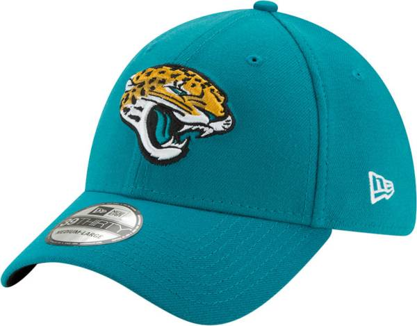 New Era Men's Jacksonville Jaguars Teal 39Thirty Classic Fitted Hat product image