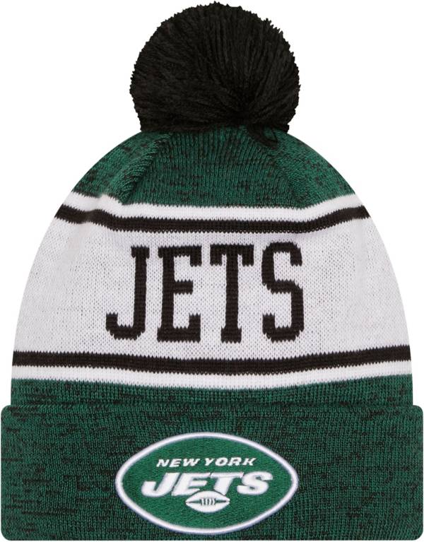 New Era Youth New York Jets Green Banner Knit Pom Beanie product image