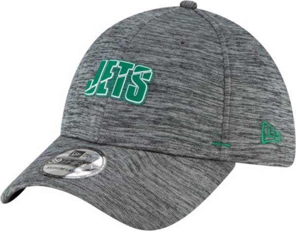 New Era Men's New York Jets Grey Summer Sideline 39Thirty Stretch Fit Hat product image