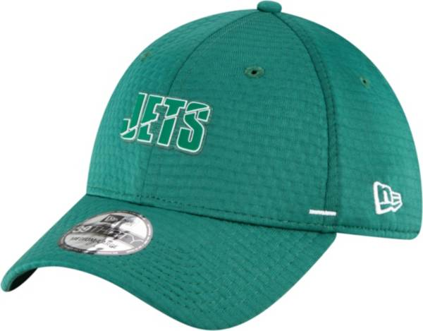 New Era Men's New York Jets Dark Green Summer Sideline 39Thirty Stretch Fit Hat product image