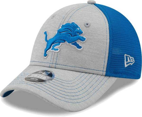 New Era Youth Detroit Lions Blue 9Forty Neo Adjustable Hat product image