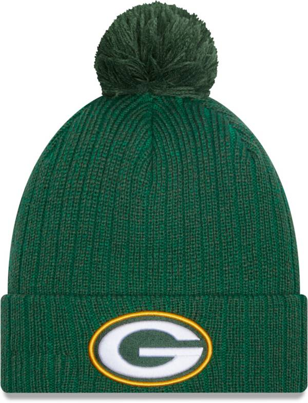 New Era Men's Green Bay Packers Green Breeze Knit Pom Beanie product image
