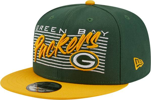 New Era Men's Green Bay Packers  9Fifty Adjustable Dark Green Hat product image