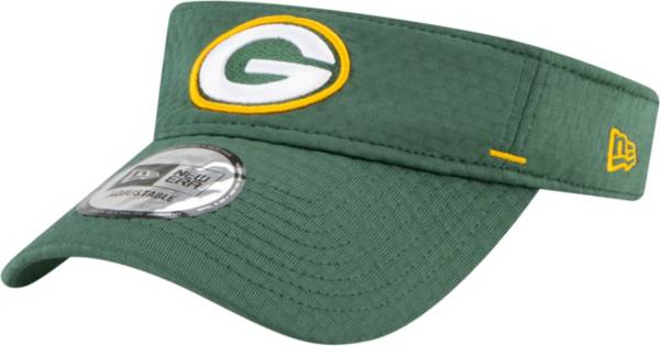 New Era Men's Green Bay Packers Green Summer Sideline Visor product image