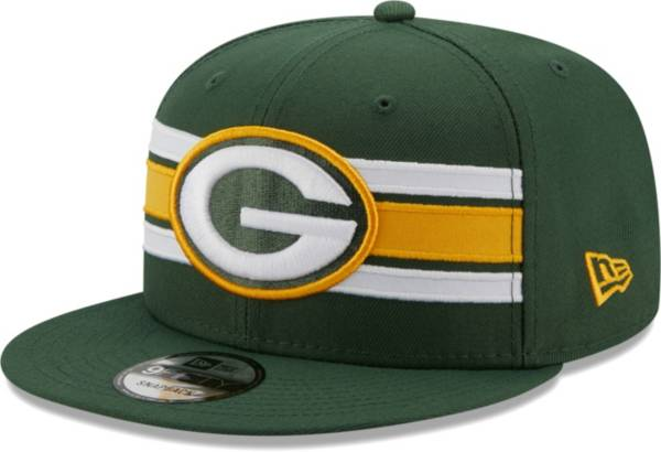 New Era Men's Green Bay Packers Green 9Fifty Strike Adjustable Hat product image