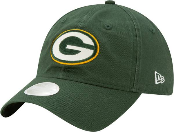 New Era Women's Green Bay Packers Green Glisten 9Twenty Adjustable Hat product image