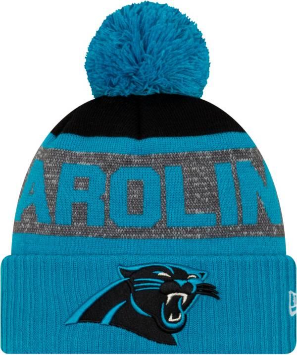 New Era Men's Carolina Panthers Pom Knit product image