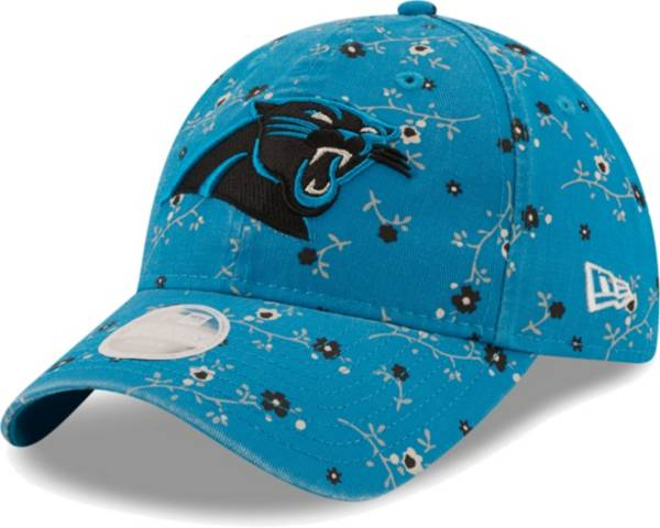 New Era Women's Carolina Panthers Blue Blossom Adjustable Hat product image