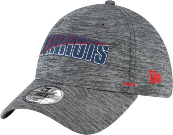 New Era Men's New England Patriots Grey Summer Sideline 39Thirty Stretch Fit Hat product image