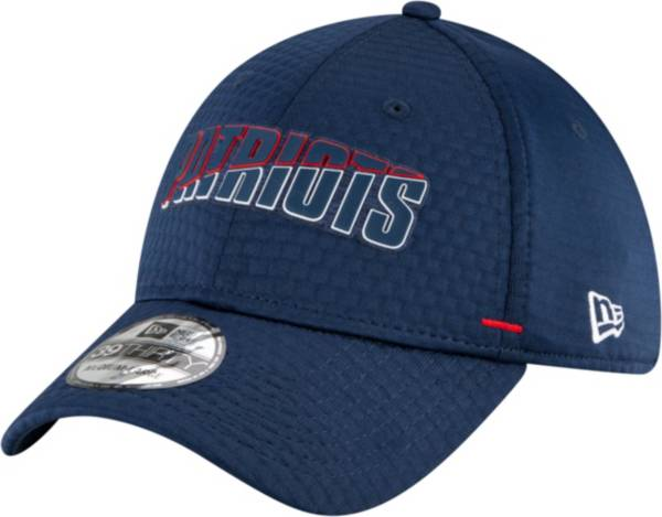 New Era Men's New England Patriots Navy Summer Sideline 39Thirty Stretch Fit Hat product image