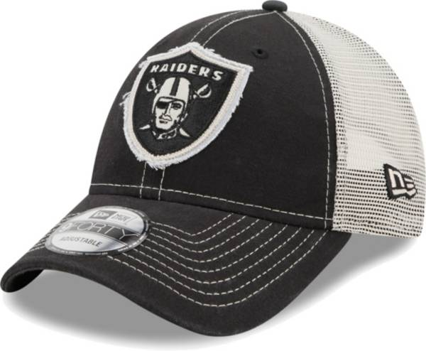 New Era Men's Las Vegas Raiders Black 9Forty Rugged Adjustable Hat product image