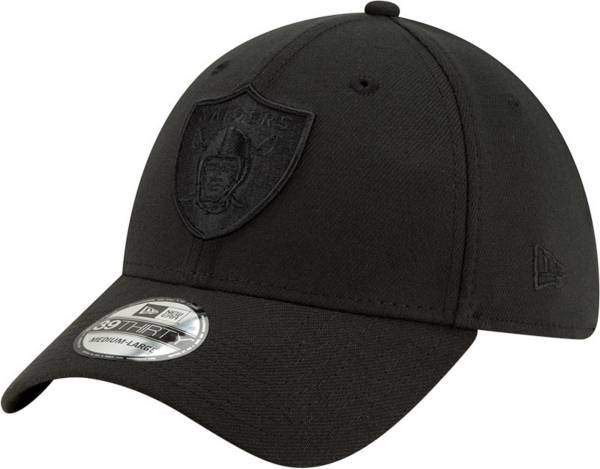 New Era Men's Las Vegas Raiders Black 39Thirty Tonal Fitted Hat product image