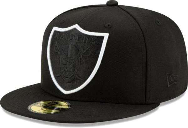 New Era Men's Las Vegas Raiders Black 59Fifity Element Adjustable Hat product image