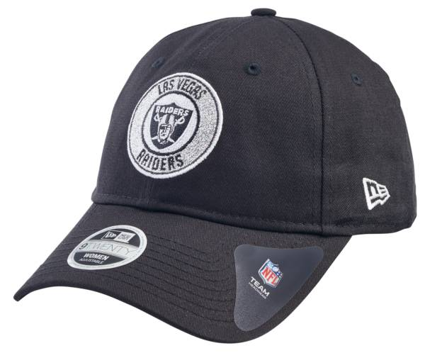 New Era Women's Las Vegas Raiders Sparkle 9Twenty Adjustable Black Hat product image