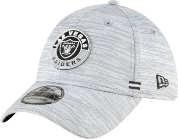 New Era Men's Las Vegas Raiders Sideline Road 39Thirty Stretch Fit Hat product image