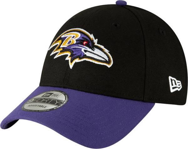 New Era Men's Baltimore Ravens Black League 9Forty Adjustable Hat product image