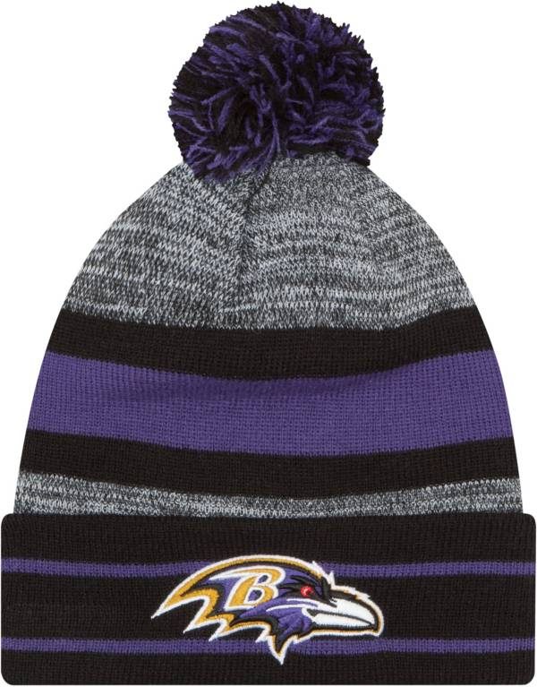 New Era Men's Baltimore Ravens Marled Cuffed Knit Beanie product image