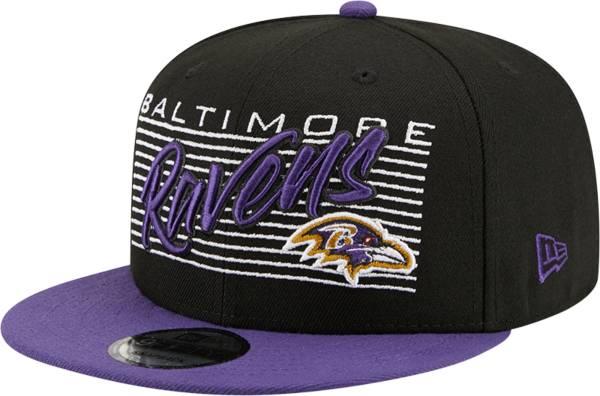 New Era Men's Baltimore Ravens  9Fifty Adjustable Black Hat product image