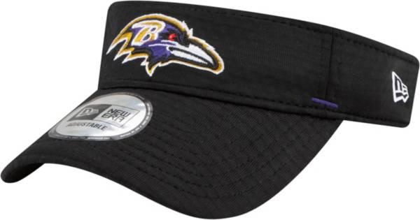 New Era Men's Baltimore Ravens Black Summer Sideline Visor product image